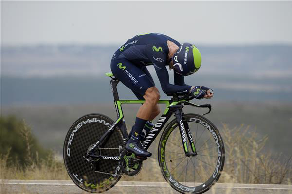 Alejandro Valverde turned in a great ride today