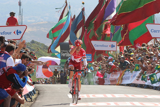 Sergey Lagutin wins stage 8