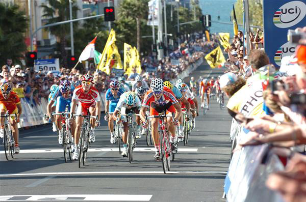 Thos Hushovd wins the 2010 World Championship