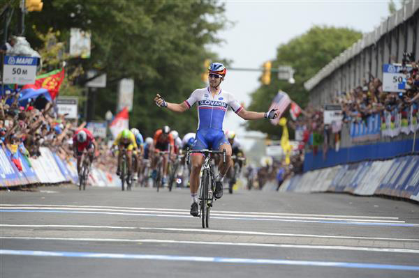 Peter Sagan wins the world road championships