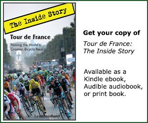 Tour de France: the Inside Story. Buy the book!