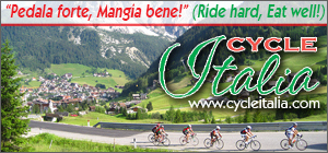 CycleItalia cycling tours