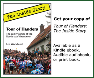 Tour of Flanders: the Inside Story. Buy the book!