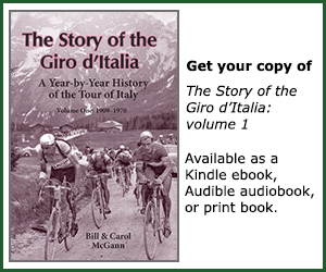 Giro d'Italia: a year-by-year history of the Tour of Italy, 1909 to 1970