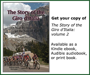 The Story of the Giro d'Italia, volume 2. Buy the book!