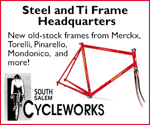 South Salem Cycleworks frames