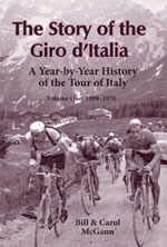 The Story of the Giro d'Italia, volume 1 cover