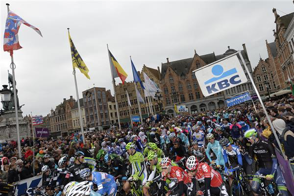 The start at Brugge