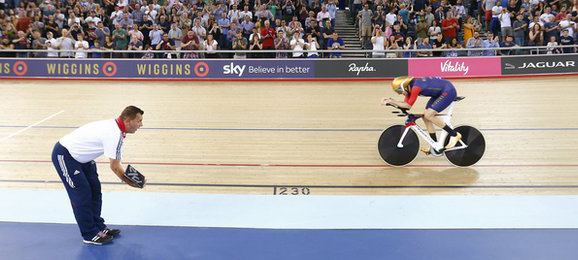 Bradley Wiggins Wourld Hour Record attempt