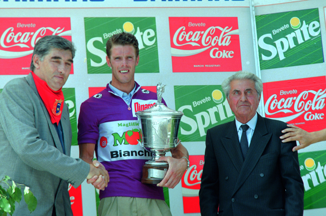 Cipollini wins the points classification in the 1992 Giro