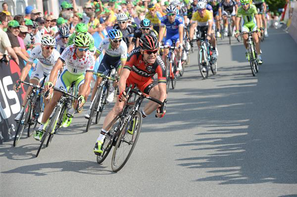 Cadel Evans at the 2014 Tour of Switzerland