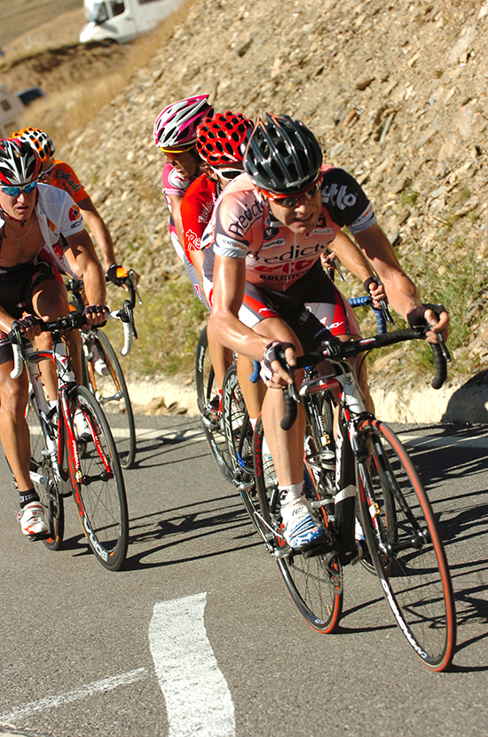 Evans at the 2007 Vuelta