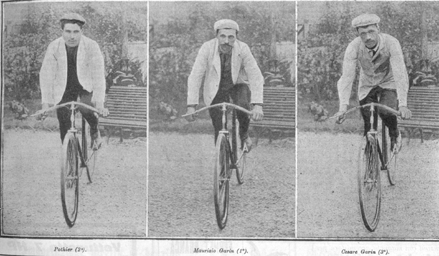 1904 Tour first three riders