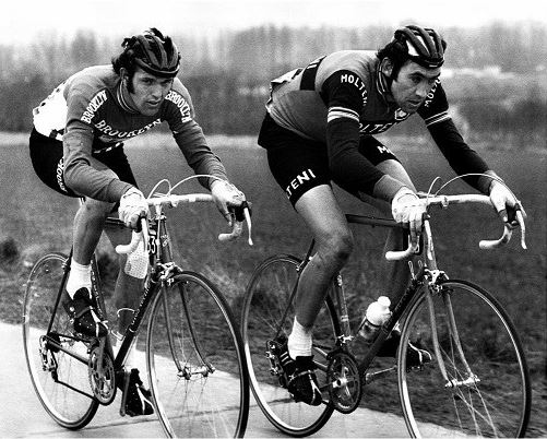 Roger de Vlaeminck and Eddy Merckx