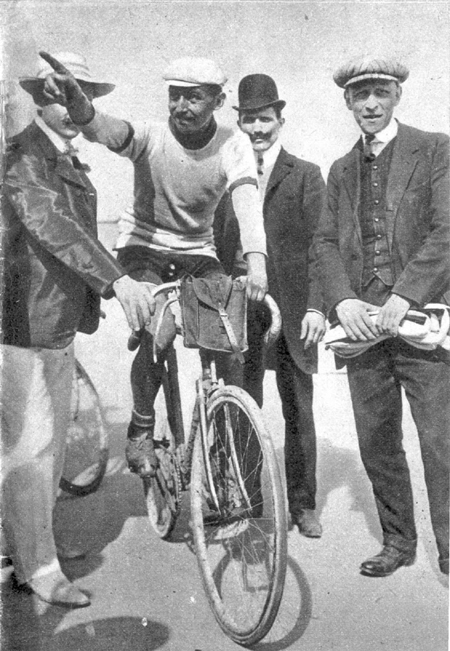 Petit-Breton, winner of the 1908 Tour de France