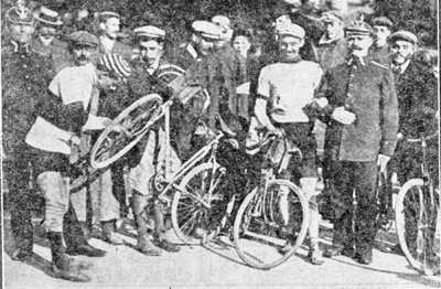 Petit-Breton in the 1908 Tour de France