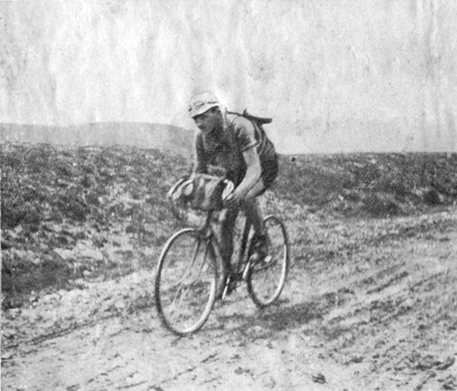 Petit-Breton in the 1913 Tour de France