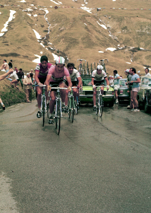 Saronni instage 17 of the 1979 Giro d'Italia