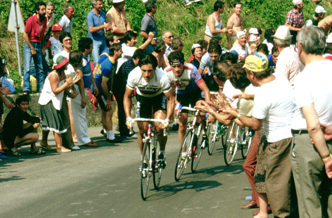 Saronni riding the 1983 GP Camaiore