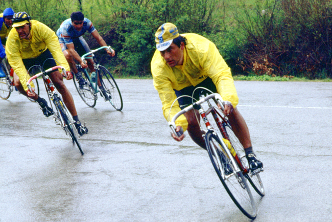 Saronni in the 1987 Giro di toscana