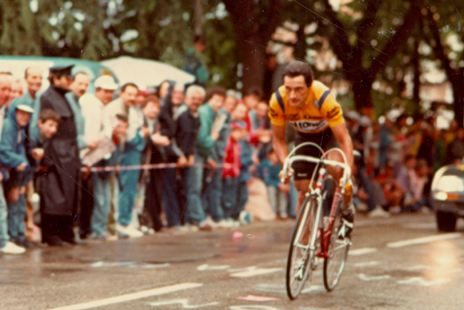 Saronni rides the 1987 Giro's 13th stage