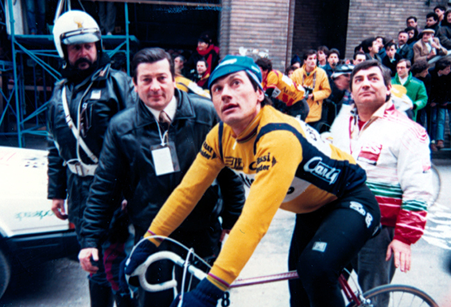 Sironni at the 1987 Tirreno Adriatico stage 4