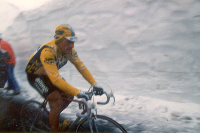Saronni in the 1988 Giro