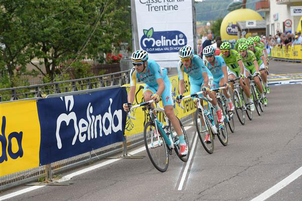 Astana and Cannondale