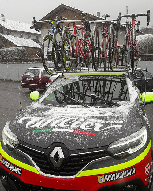Wilier Tirestina car
