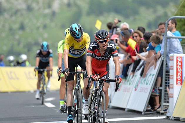 Richie porte and Chirs Froome