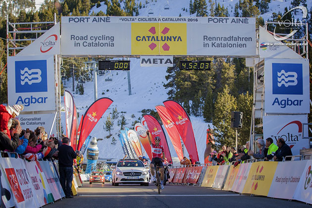 Catalonia stage 4 finish
