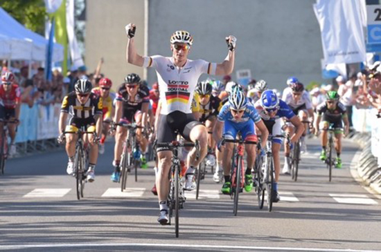 Andre Greipel won two stages