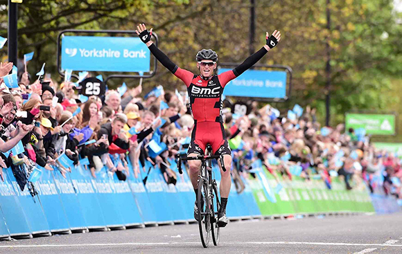 Ben Hermans wins stage 3 of the Yorkshire tour