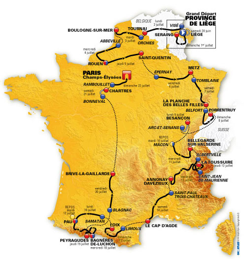 2012 Tour De France