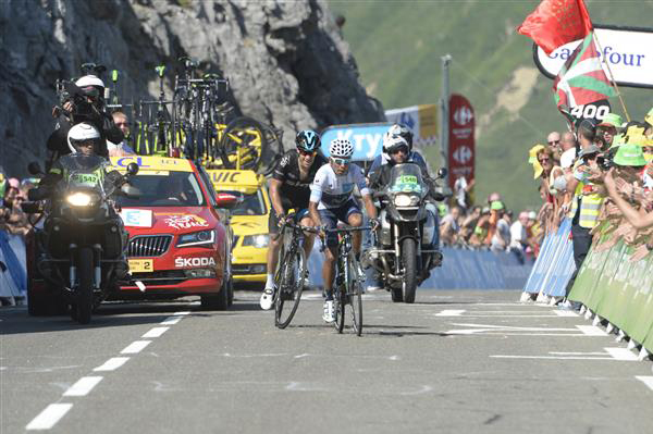 Richie porte and Nairo Quintana
