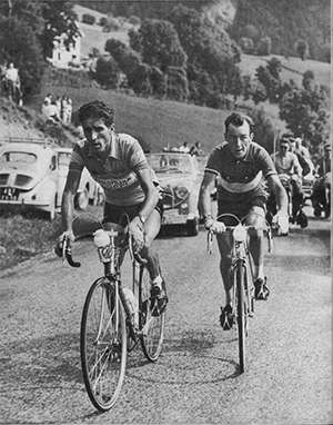 Charly Gaul and Federico Bahamontes