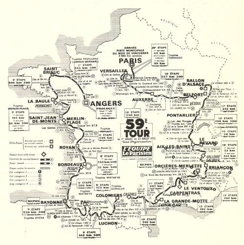 1972 tour de france by bikeraceinfo