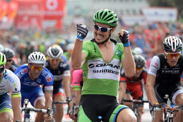 John Degenkolb wins stage 17 of the 2014 Vuelta