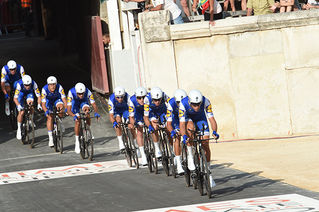 Team Qick Step Floors